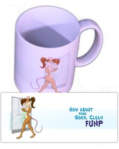"Tasse ""Good Clean Fun"""